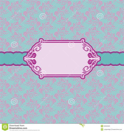 Greeting Card Frame Template by Template Frame Design For Greeting Card Stock Photo