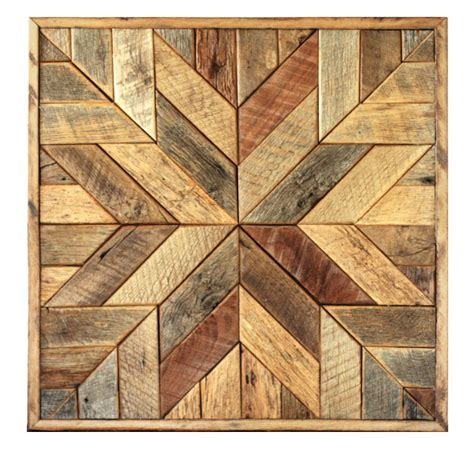finding the artistic barn wood reclaimed wood quilt square 36 inch geometric wall