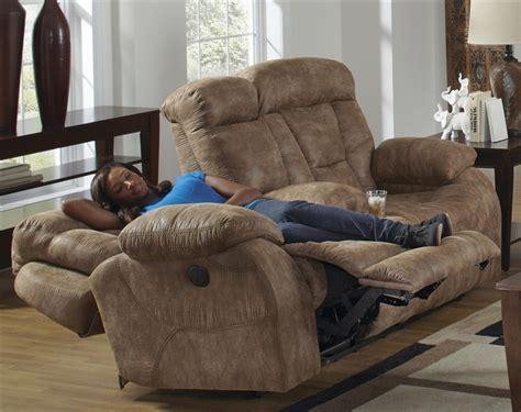 lay flat reclining sofa desmond power lay flat reclining console loveseat in