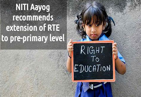 Pre Primary News Coverage Of Niti Aayog Recommends Extension Of Rte To Pre Primary Level Careerindia