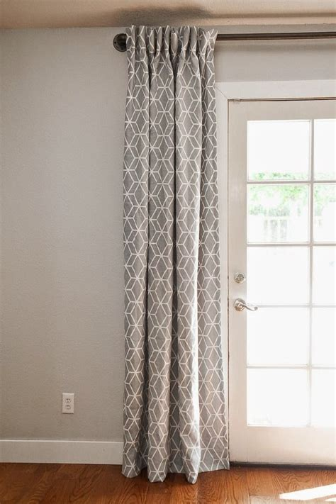 french patio door curtains 4 innovative designs for patio and french doors