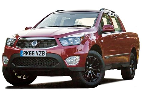 ssangyong musso pickup   review carbuyer