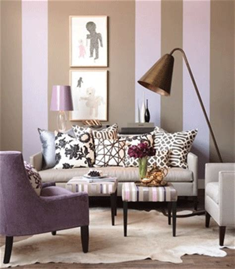 decorate with purple and gray gray white beige pink