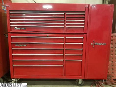 snap on tool box top cabinet armslist for sale trade snap on tool box with cabinet