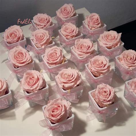 fiori stabilizzati prezzi fiori fedeli laboratorio artigianale bomboniere rosa
