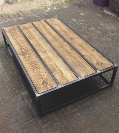 custom metal coffee tables 25 best ideas about reclaimed wood tables on