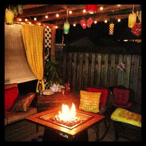 Unique Kitchen Decor Ideas Boho Patio Style Outdoor Decor Pinterest Fire Pits