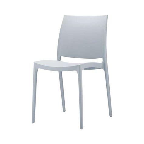 chaise polypropylene chaise en plastique polypropyl 232 ne 4 pieds