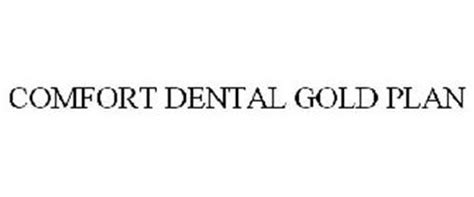 Comfort Dental Golden Co by Comfort Dental Gold Plan Trademark Of Rak Trademarks Llc