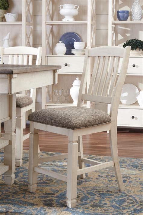 ashley furniture bolanburg antique white finish bedroom bolanburg antique white upholstered barstool 2 cn