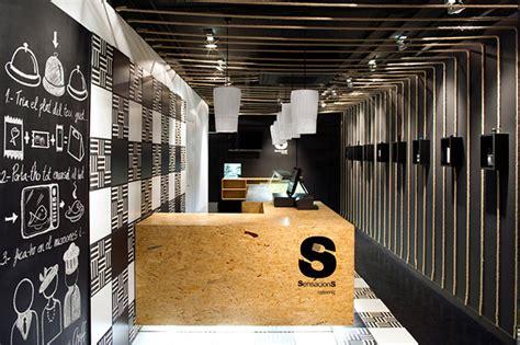 low cost restaurant interior design sensacions restaurant by denys von arend sabadell