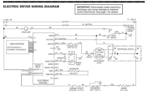 kenmore electric dryer parts diagram kenmore elite dryer wiring diagram wiring diagrams