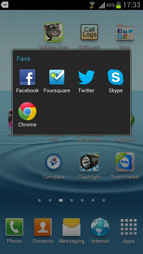create folder on android how to create folders on samsung galaxy s3 for grouping similar apps android advices