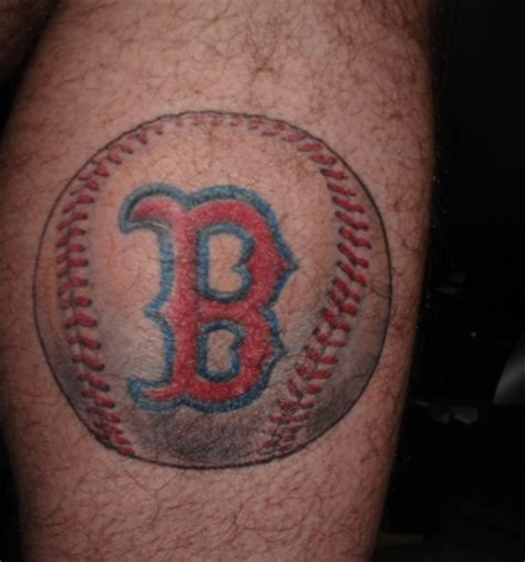 red sox tattoo sox baseball tattooshunt