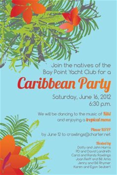 Caribbean Party Invitation Background Celebracion Centerpiece Ideas Pinterest Caribbean Free Caribbean Menu Template