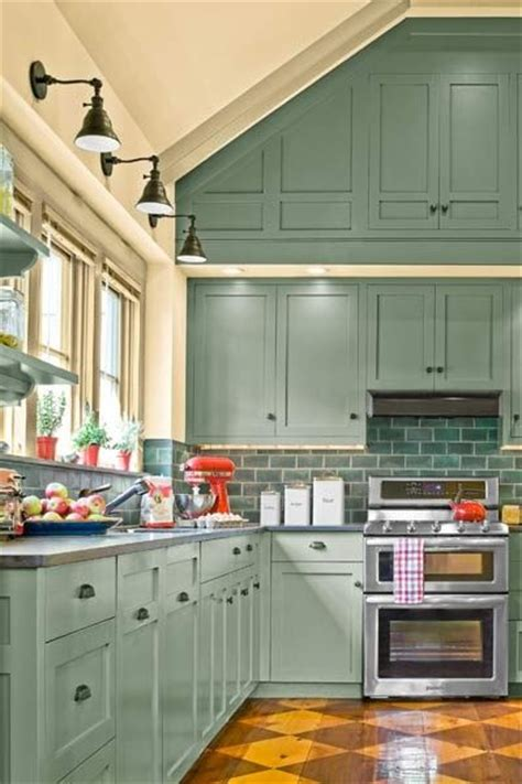 Kitchen Cabinets Vaulted Ceiling 1830s Farmhouse Remodel Fit For A Family