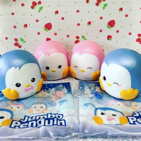 Puni Maru Jumbo Penguin kawaii shop buy squishies squishy buns ibloom puni maru squishies