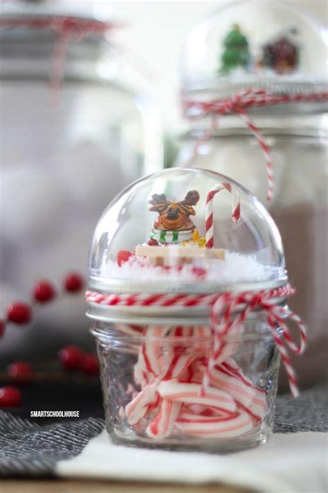 mason jar lid snow globe  christmas