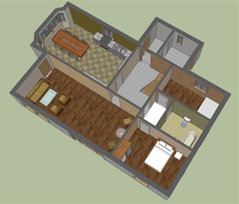 House Design Sketchup Sketchup Floor Plans Templates Mapo House And Cafeteria