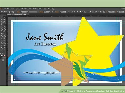 How To Make A Business Card In Illustrator