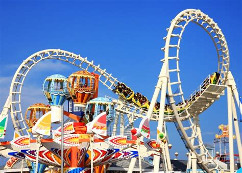 theme park rides amusement park rides jigsaw puzzle in puzzle of the day