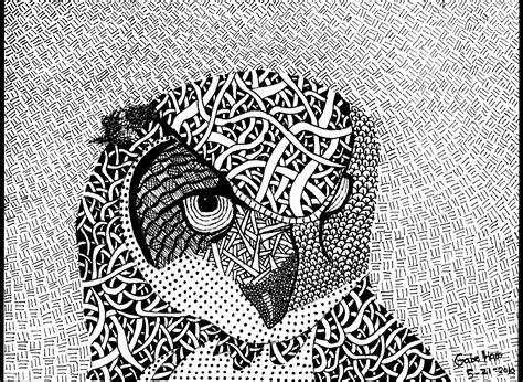 Toner Blueprint ink design owl gabegreens foundmyself