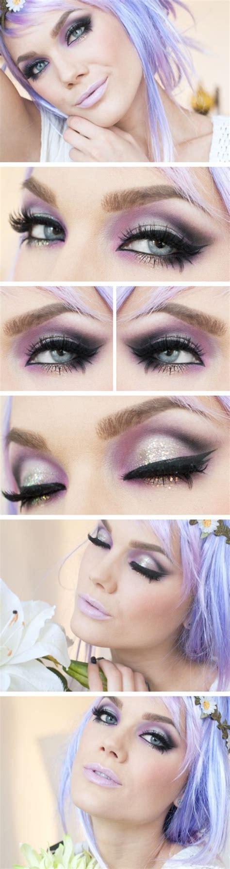 Eyeshadow Viva Seri D beautiful eye shadow and a pretty pale lilac lip it