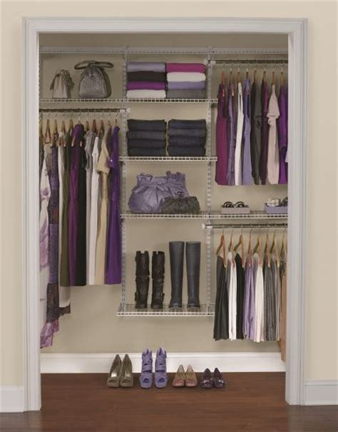 Rubbermaid Homefree Closet System by Rubbermaid Homefree Series 6 Ft To 10 Ft Adjustable Wire