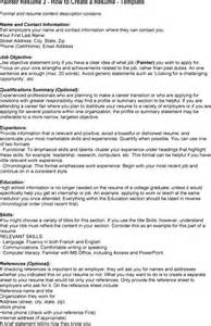 Painting Resume by Industrial Painter Resume Sales Painter Lewesmr