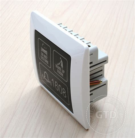 doorbell for room square 86 style hotel touch doorbell with room number dnd clear room buy touch screen doorbell