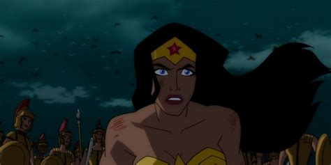 film anime update update wonder woman 2009 animated movie is getting an r