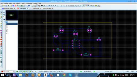 membuat rangkaian lu led 12 v membuat layout rangkaian led senter mohammad apryan suhendra
