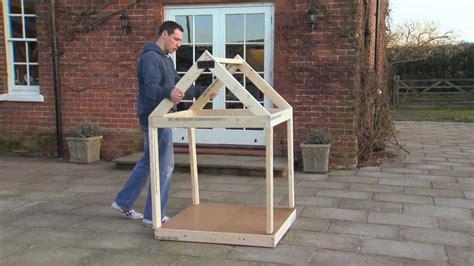 building  dog kennel  ryobi tools youtube