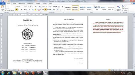 format makalah universitas indonesia format pembuatan makalah habib wisnu pratama h w p