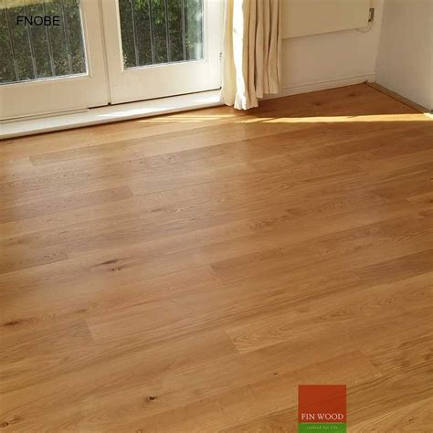 fitting narrow oak boards engineered