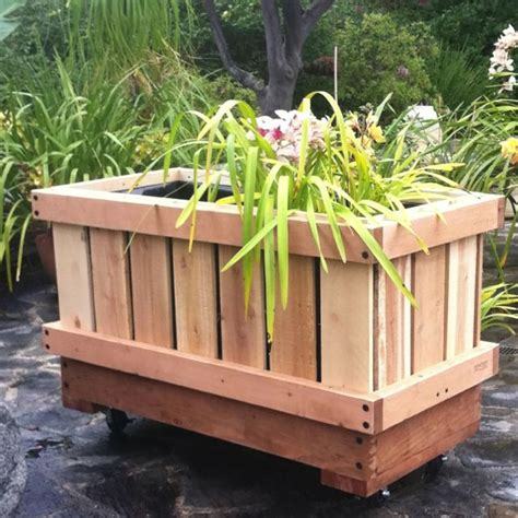 Rolling Planter Boxes by Pin By Donnelly On Front Yard