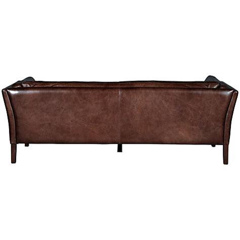 saddle leather sofa singapore buy halo groucho large aniline leather sofa lewis