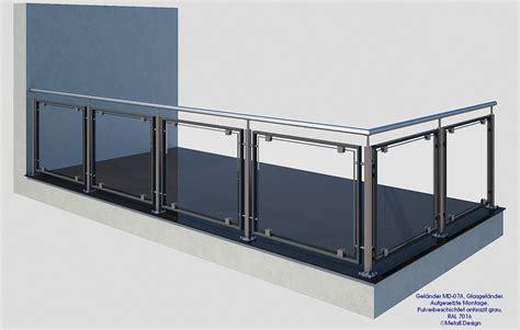 balkongeländer bausatz glasgel 228 nder bausatz design shop baalcke