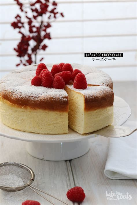 Japanese Cotton Cheesecake With Strawberry 1 japanese cheesecake aka cotton cheesecake aka チーズケーキ bake to the roots