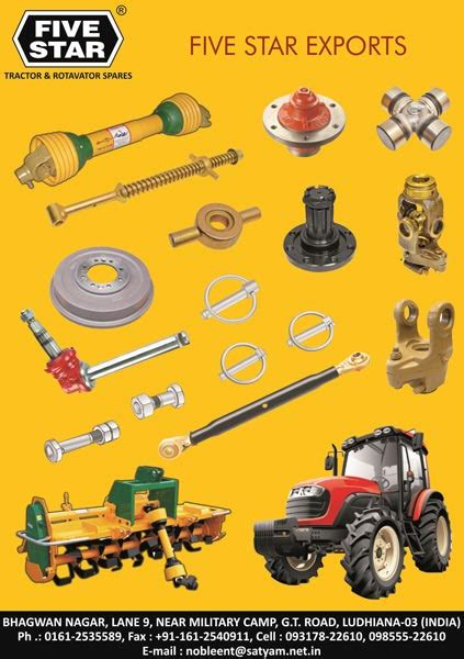 Spare Part Timor products tractor spare parts manufacturer inludhiana