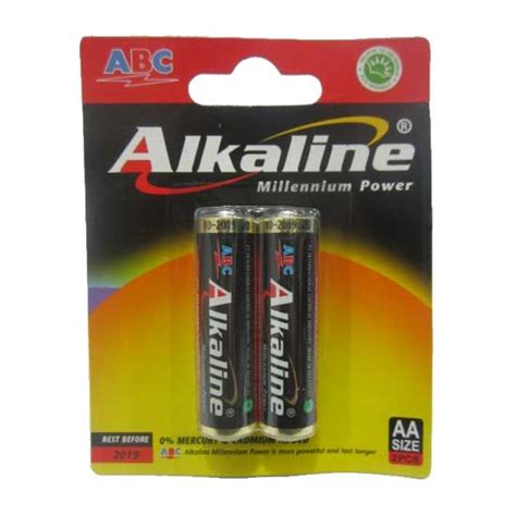 Alkaline Aa Isi 2 jual baterai abc alkaline 2pcs aa harga dan spesifikasi