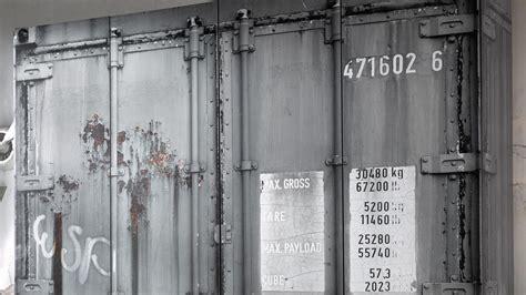 container schrank kleiderschrank container schrank in grau industriedesign