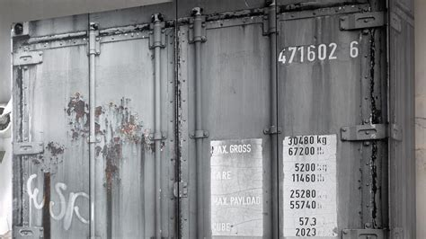 kleiderschrank container kleiderschrank container schrank in grau industriedesign