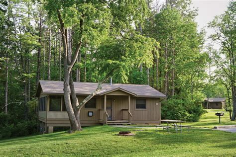 Cowan Lake State Park Cottages by