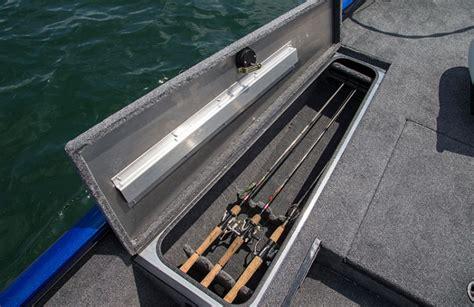 jon boat rod locker bass boat rod locker organizer pictures to pin on