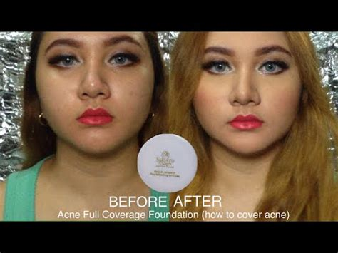 Harga Sariayu Foundation sariayu bedak jerawat review dan demo acne coverage