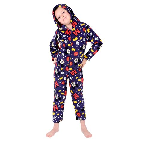 fleece all in one pyjamas for toddlers onesie official character fleece all in one boys