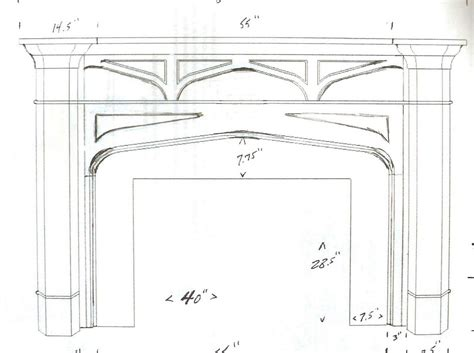 Fireplace Mantel Plans Free by Woodwork Building A Fireplace Mantel From Scratch Plans