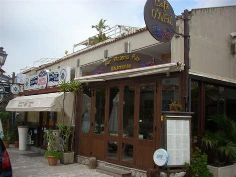 ristoranti giardini naxos o neil bar restaurant giardini naxos ristorante