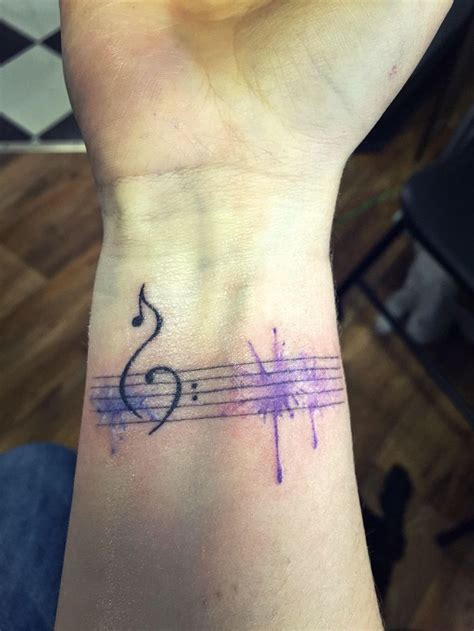watercolor tattoo music best 25 watercolor ideas on